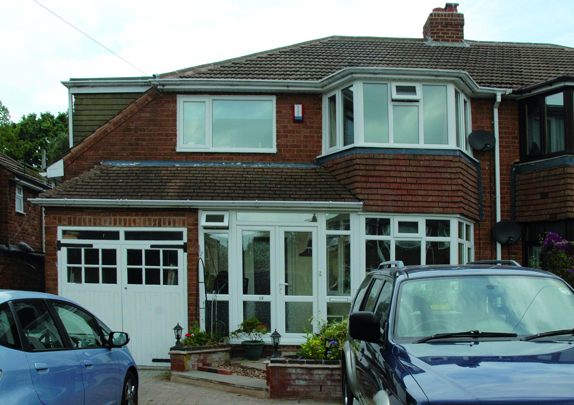New double glazed windows in Birmingham