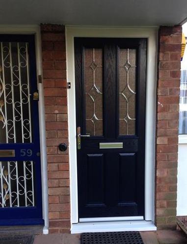Happy customer's composite door