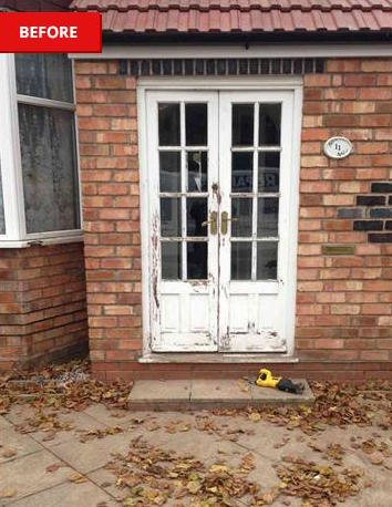 Wooden french doors that need replacing