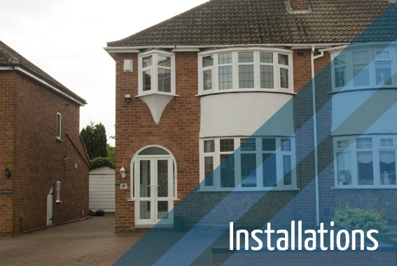 New installations by Double Glazing Repairs Lichfield