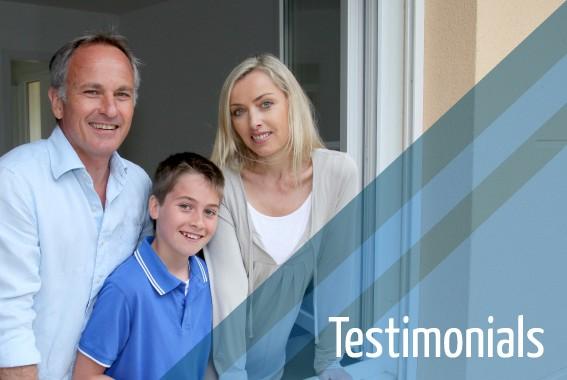 Testimonials for Double Glazing Repairs Lichfield